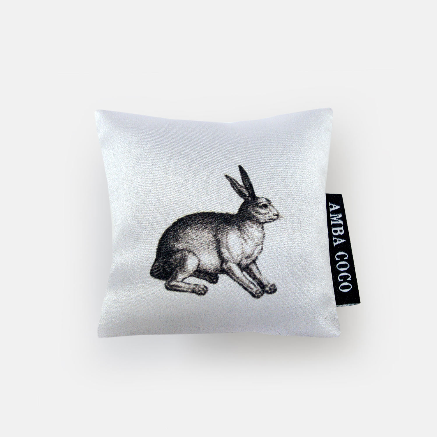 Rabbit & Fox Silk Mini Dream Pillow