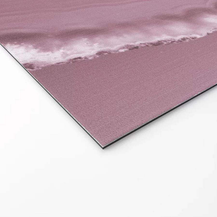 Brazilian Agate Pink Gemstone Geode Welcome Mat