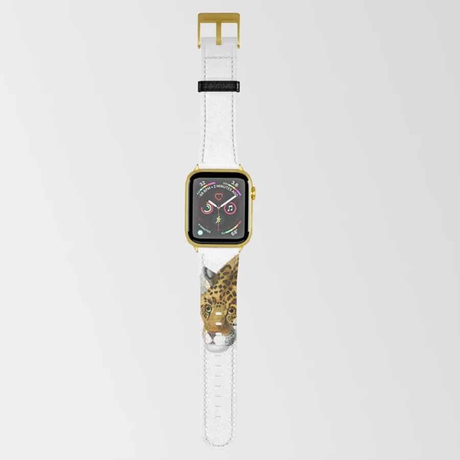 Jaguar Wild Cat Apple Watch Band