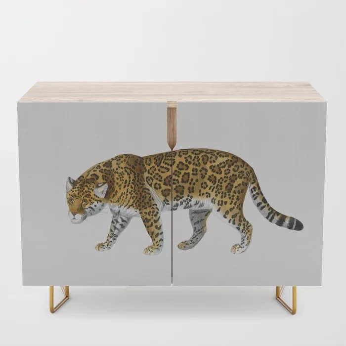 Jaguar Wild Cat Credenza